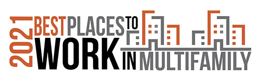 Best Places to Work in Multifamily - 2021